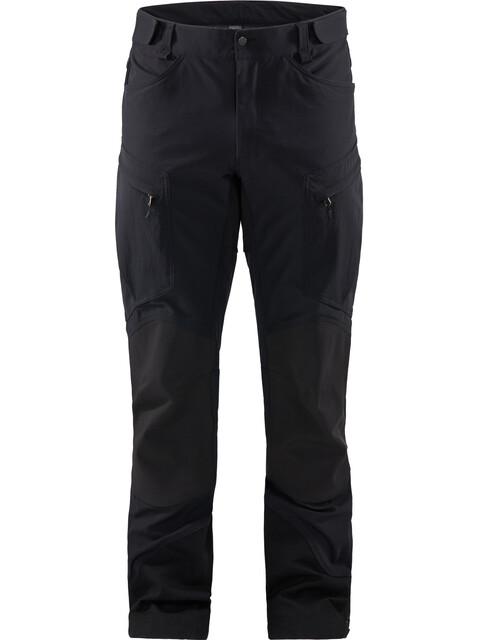 Haglöfs Rugged Mountain Pants Men True Black Solid Long